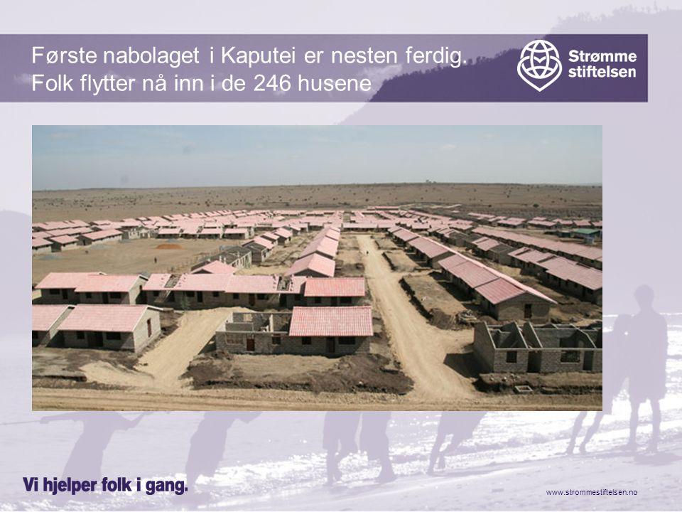 www.strommestiftelsen.no Det skal bygges ….., Sykepleierskole Barnehage Skole Og en kirke som vil være sentrum for byen