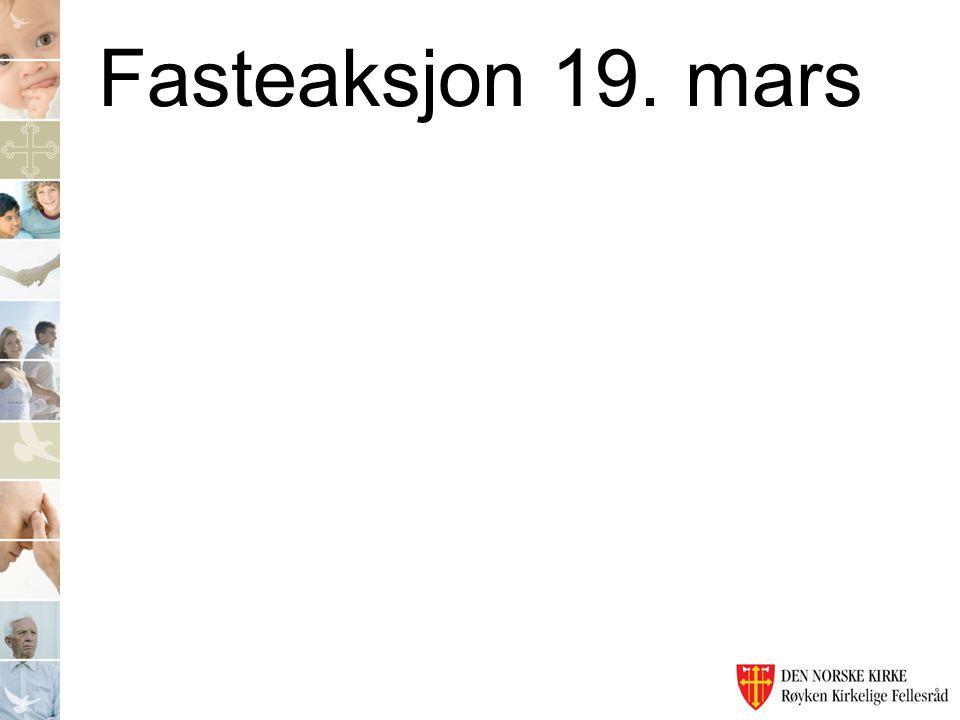 Fasteaksjon 19. mars