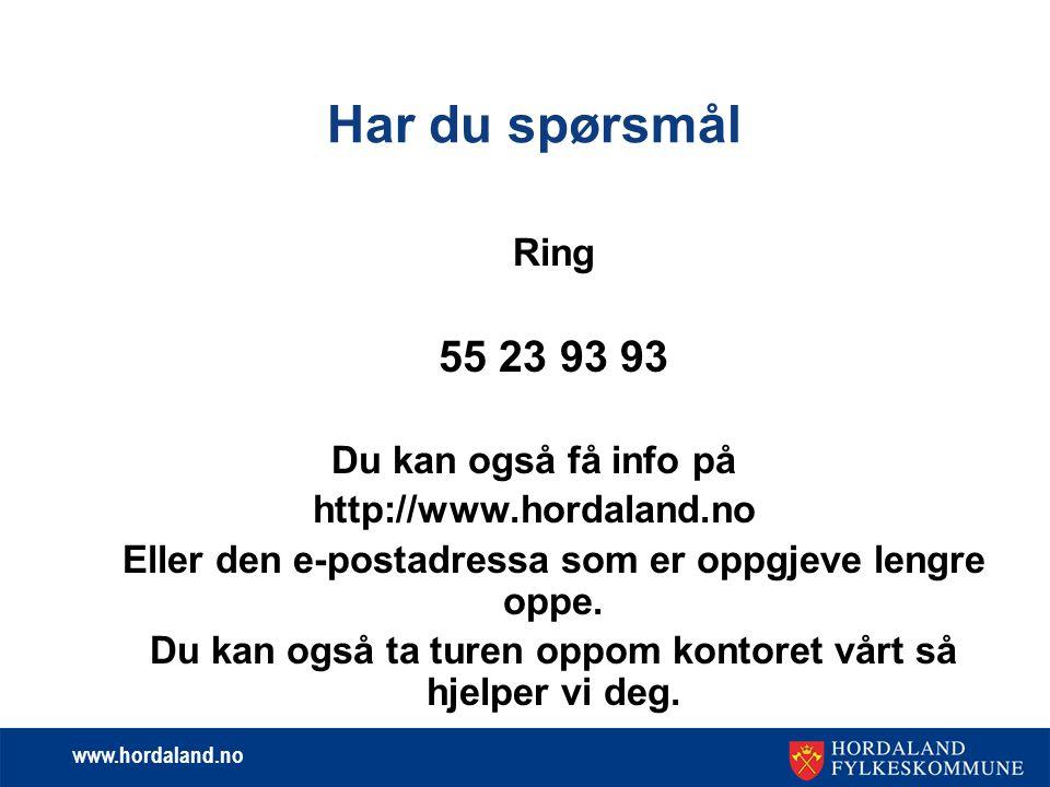 www.hordaland.no Søknad om stipend  Fristar for 2012 – 2013 .