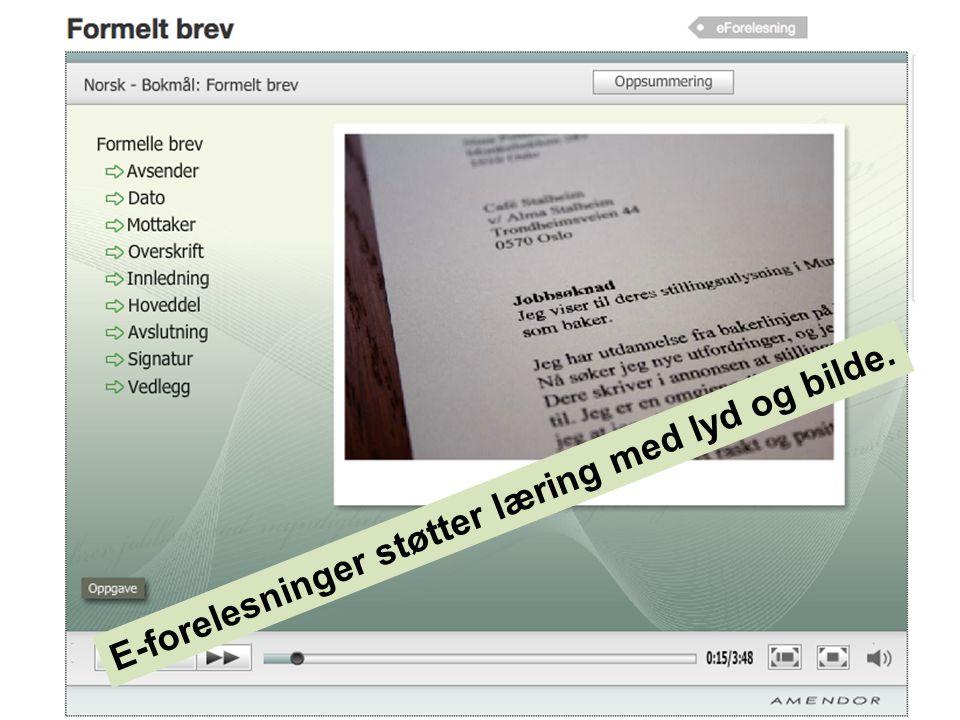 Eksempel på instruksjonsvideo fra restaurant- og matfag