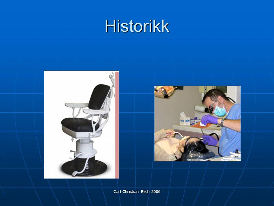 Carl Christian Blich 2006 Historikk