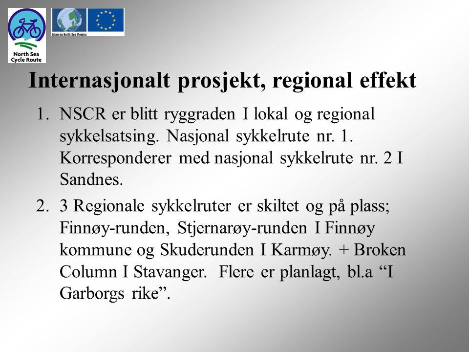 1.NSCR er blitt ryggraden I lokal og regional sykkelsatsing.