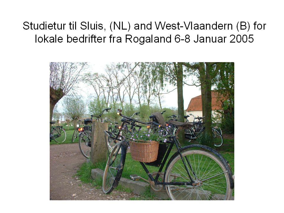 11.Studietur til Nederland og Belgia for lokale bedrifter.