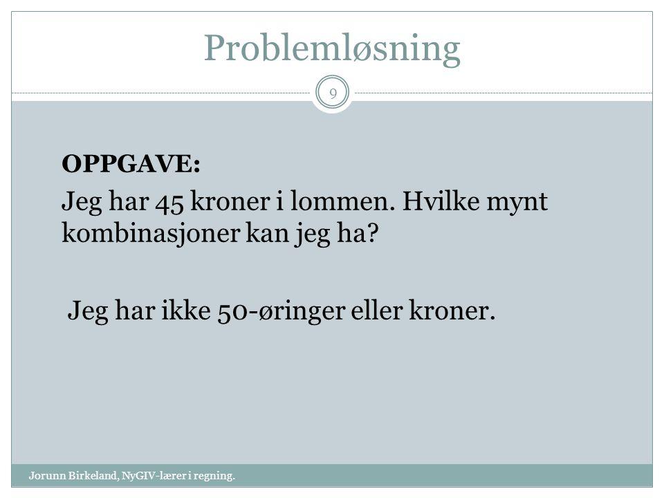 FIRKANT Jorunn Birkeland, NyGIV-lærer i regning.