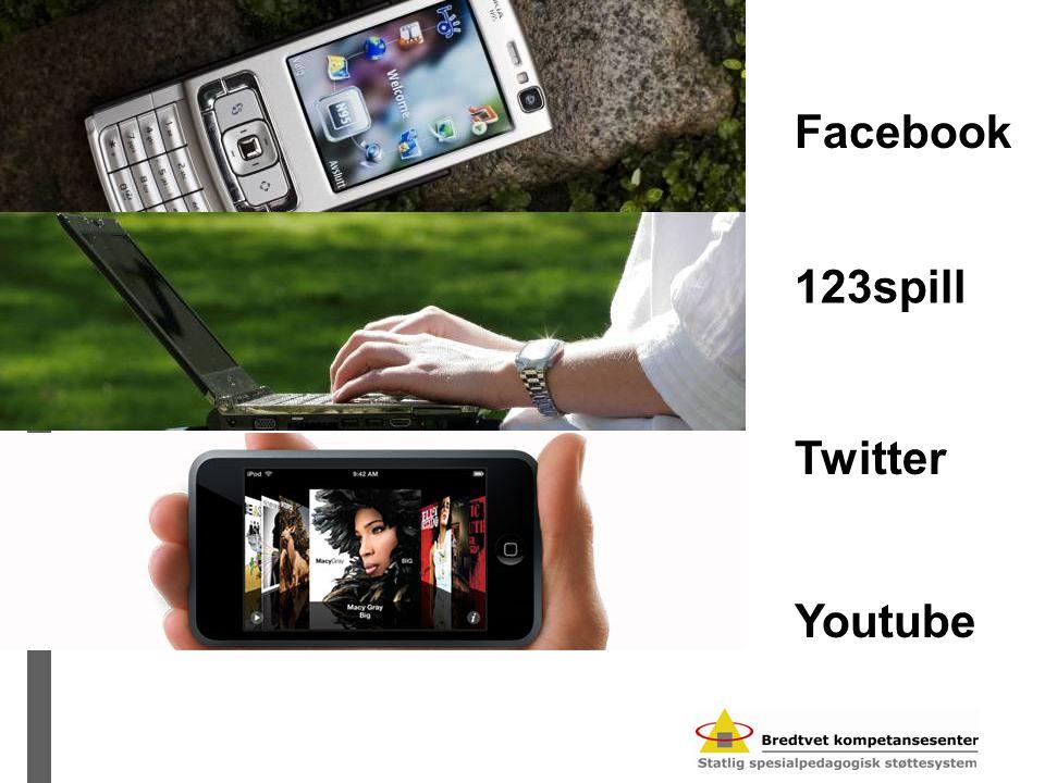 Facebook 123spill Twitter Youtube