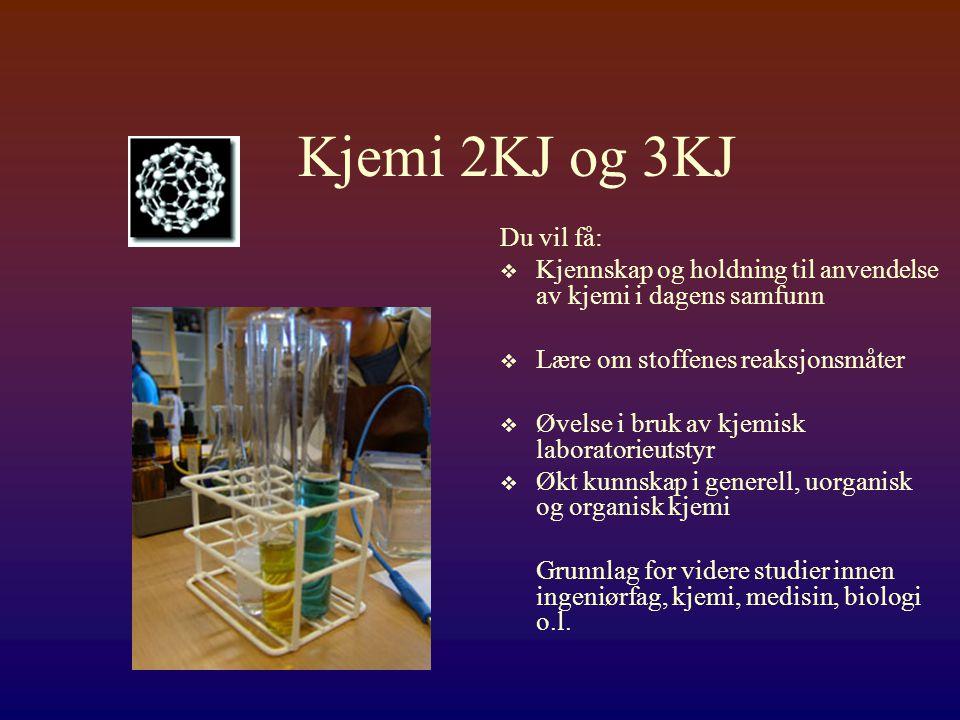 Kjemi  Den kjemiske industrien har hatt stor betydning for utvikling av det moderne samfunnet i Norge.