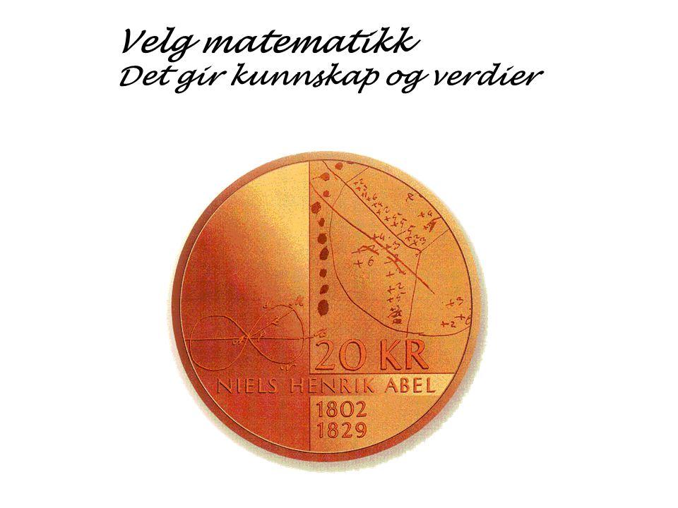 Matematikk  I matematikk møter du moderne informasjonsteknologi hånd i hånd med de grunnleggende matematiske ferdigheter som vi har arvet fra våre store matematikere.