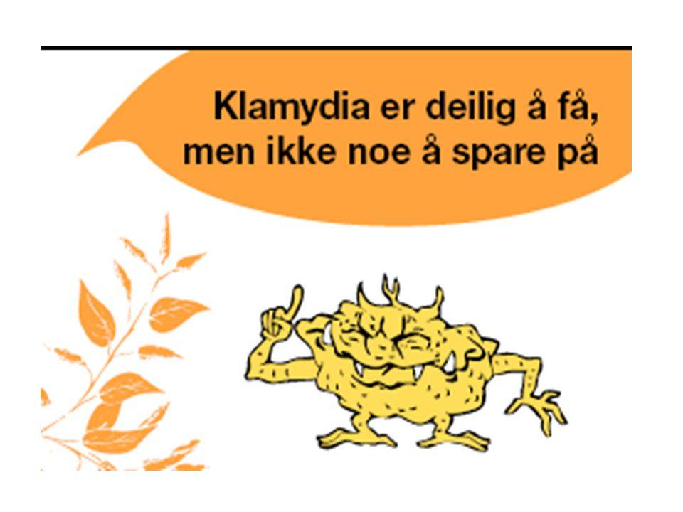 Informasjon om Klamydia Dette er den vanligste bakterielle kjønnssykdommen vi har.