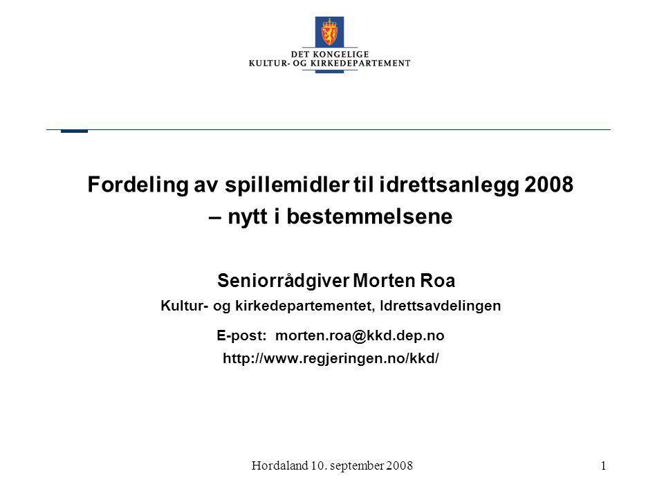 Kommunene i Hordaland 10.sept.0812 2.2.1 Krav til søker….