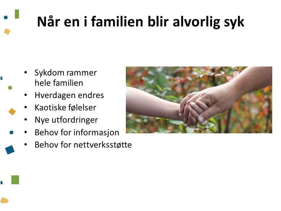 Barns rettighet og helsepersonells plikt 1.1.2010 fikk mindreårige barn av pasienter med psykisk sykdom, rusmiddelavhengighet eller somatisk sykdom/skade lovfestede rettigheter.