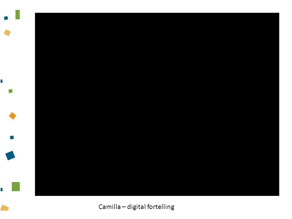 Camilla – digital fortelling