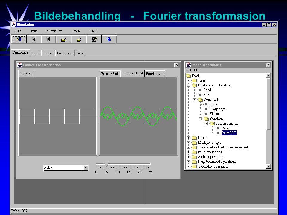21 Bildebehandling - Fourier transformasjon