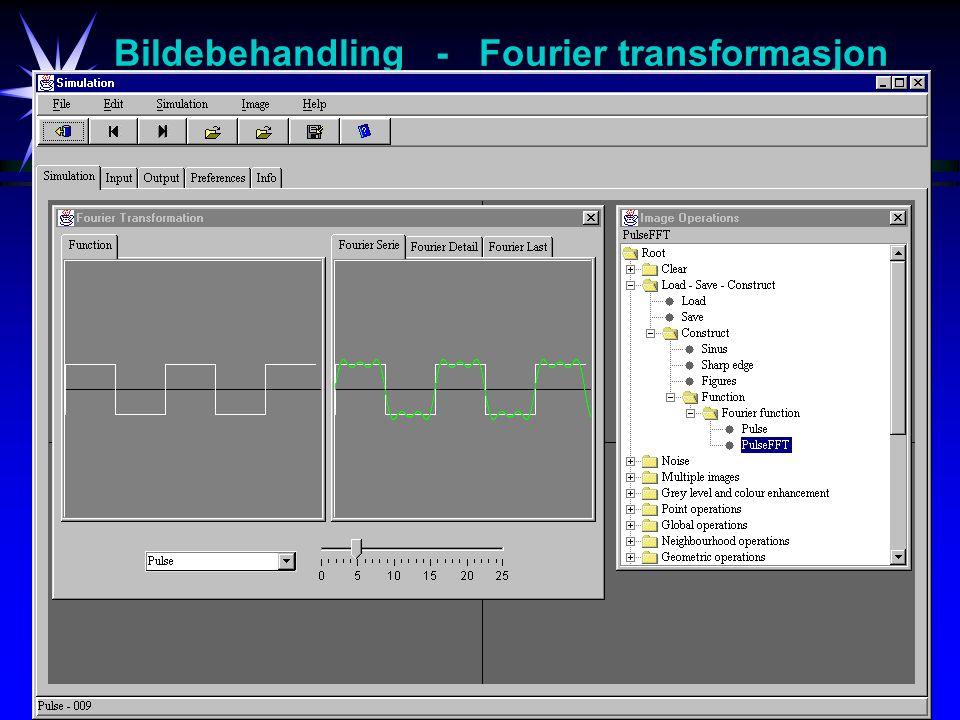 22 Bildebehandling - Fourier transformasjon
