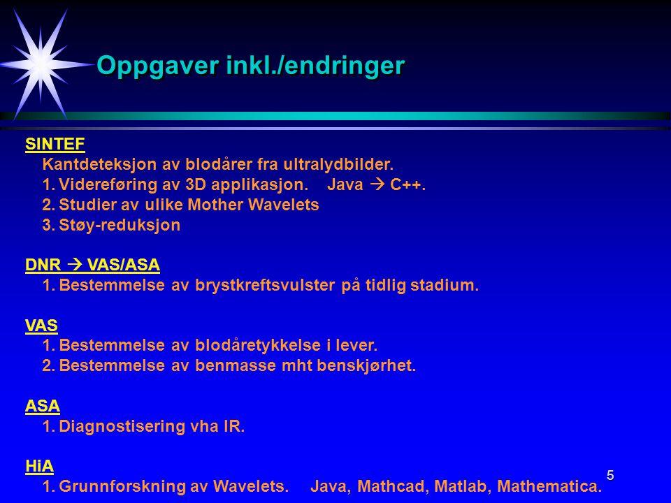 6 PresentasjonPresentasjon Per Henrik Hogstad -Matematikk -Statistikk -Fysikk(Hovedfag i teoretisk kjernefysikk) -Informatikk -Programmering / Objektorientering -Algoritmer og datastrukturer -Databaser -Digital bildebehandling -FoU