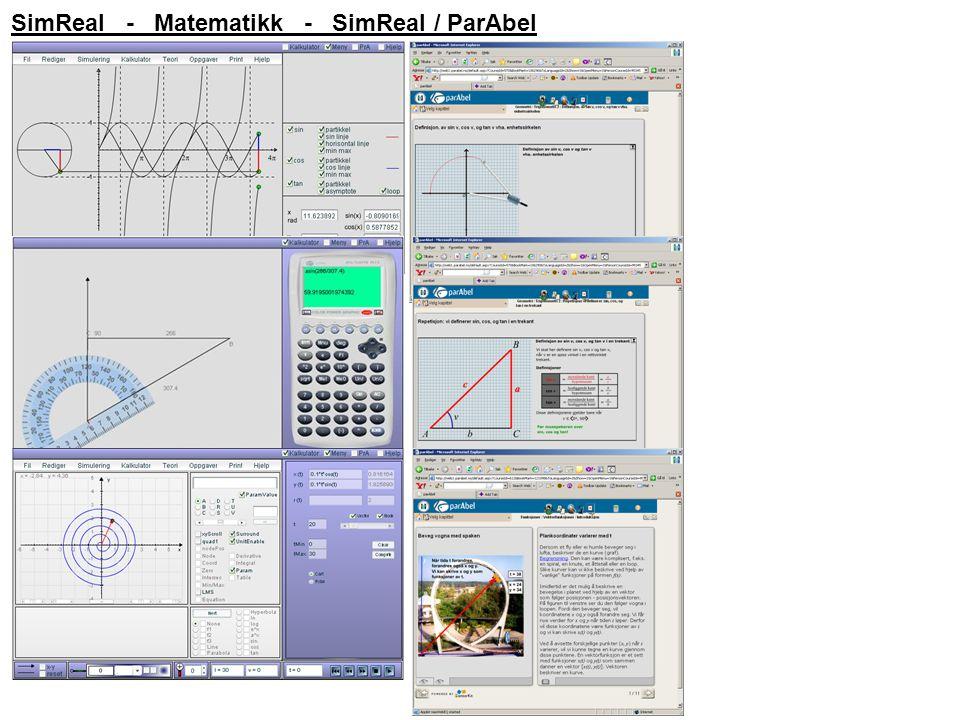 SimReal - Matematikk - SimReal / ParAbel
