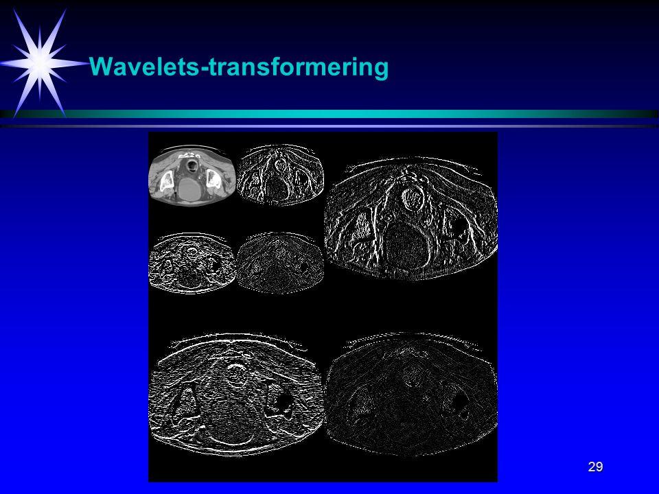 29 Wavelets-transformering