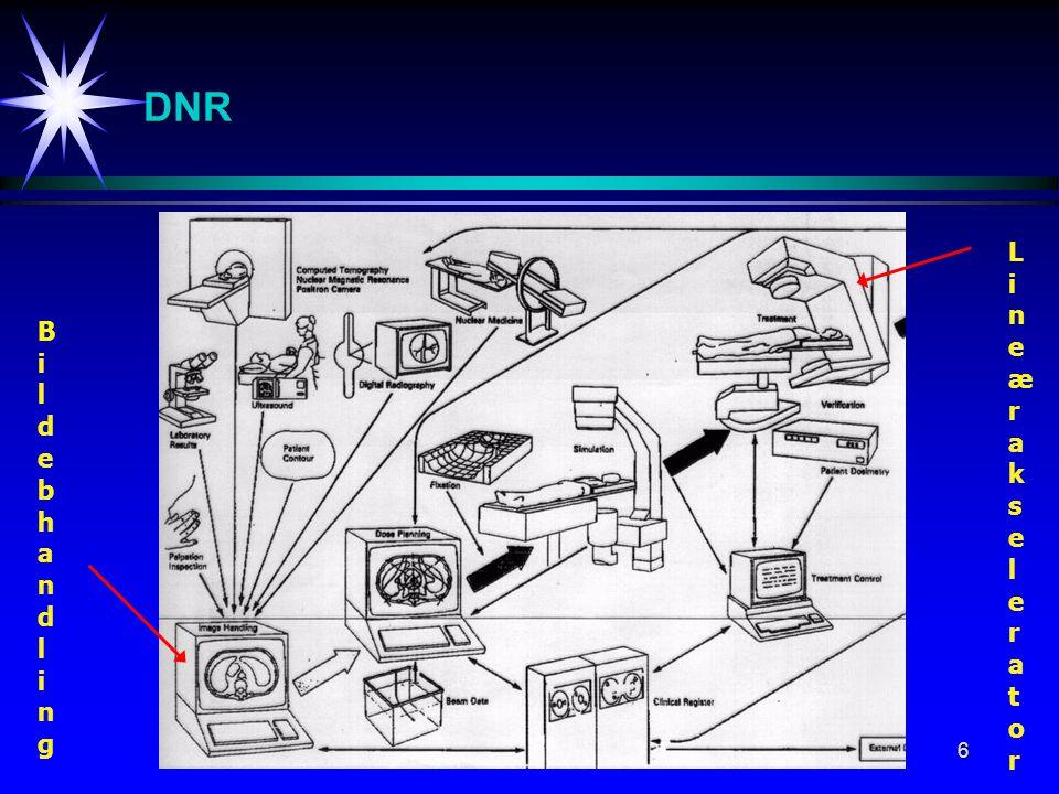6 DNR BildebhandlingBildebhandling LineærakseleratorLineærakselerator