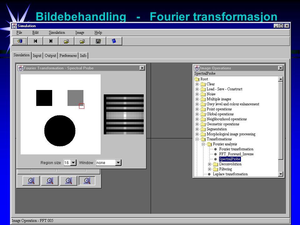18 Bildebehandling - Fourier transformasjon