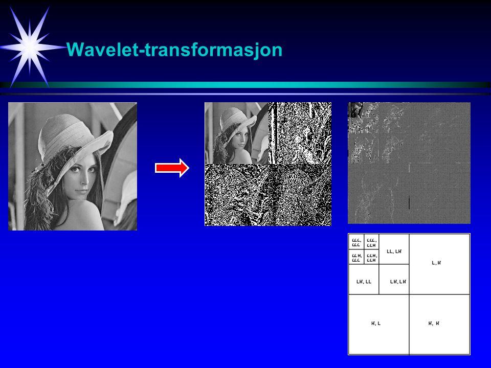22 Wavelet-transformasjon