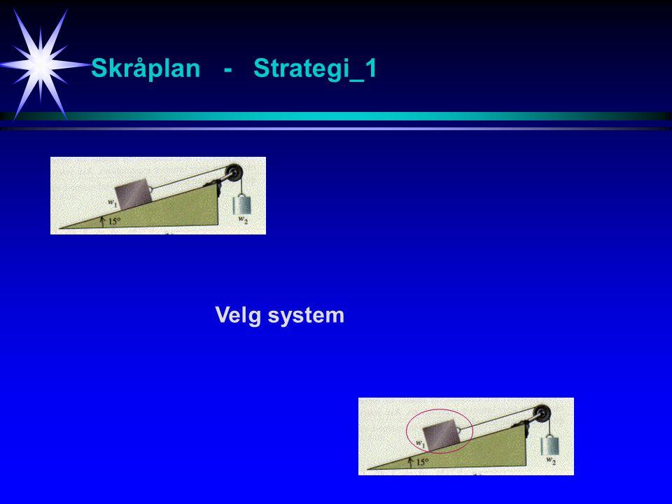 Skråplan - Strategi_1 Velg system