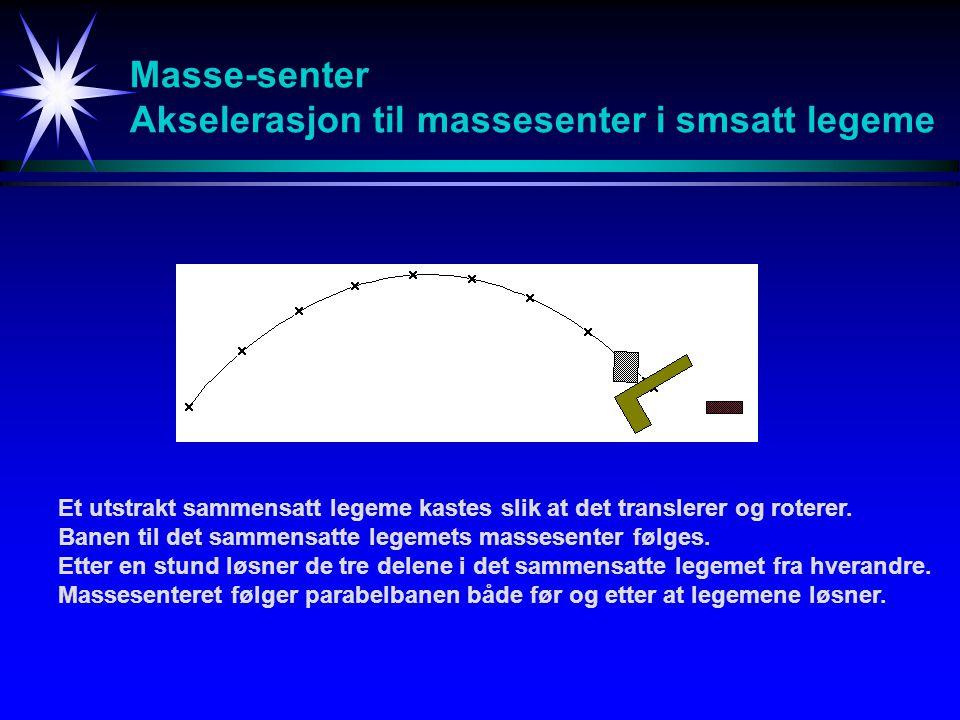Masse-senter - Definisjon riri mimi dm r