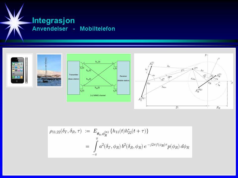 Substitusjon i multiple integraler Transformasjon - Eks 4 [2/4] Grenser xy Grenser uv u v 5 2 E 41 xy = 1 xy = 4 y 2 – x 2 = 5 y 2 – x 2 = 2 xy = 1 xy = 4 y 2 – x 2 = 5 y 2 – x 2 = 2 D