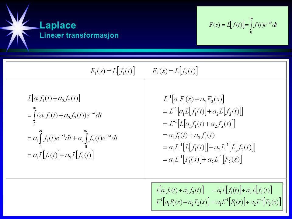 Laplace Lineær transformasjon