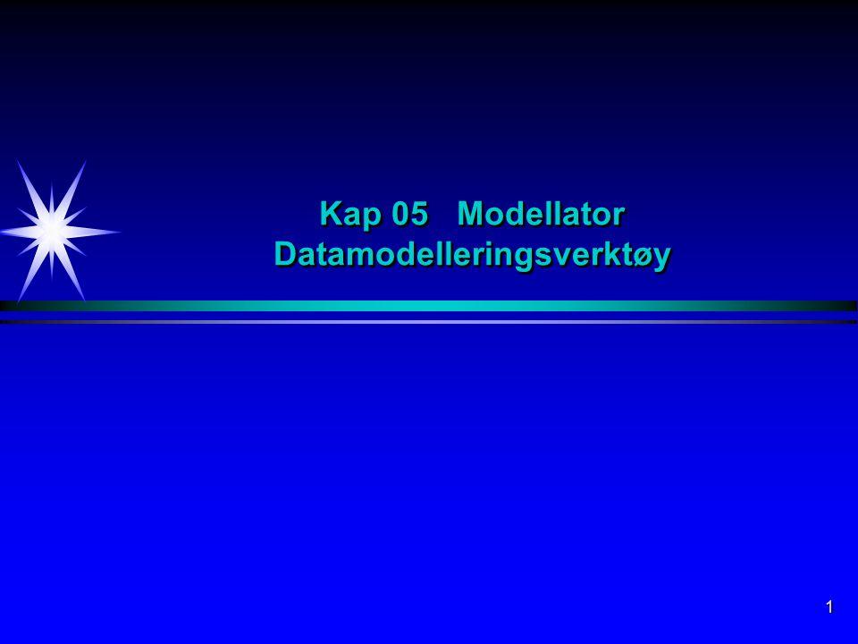 1 Kap 05 Modellator Datamodelleringsverktøy