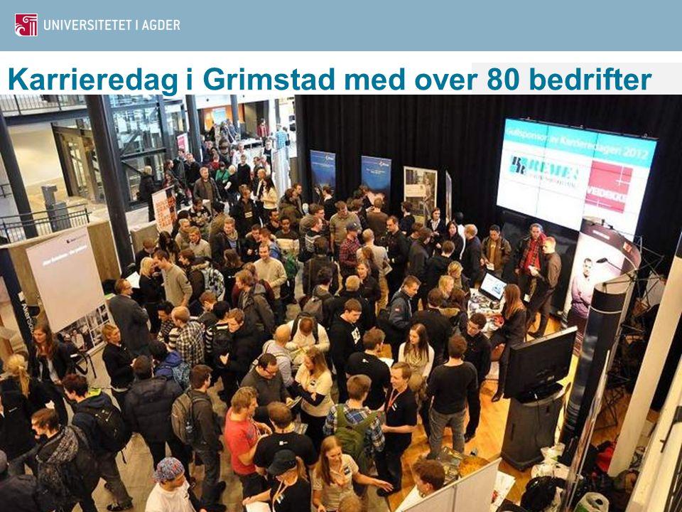 Karrieredag i Grimstad med over 80 bedrifter