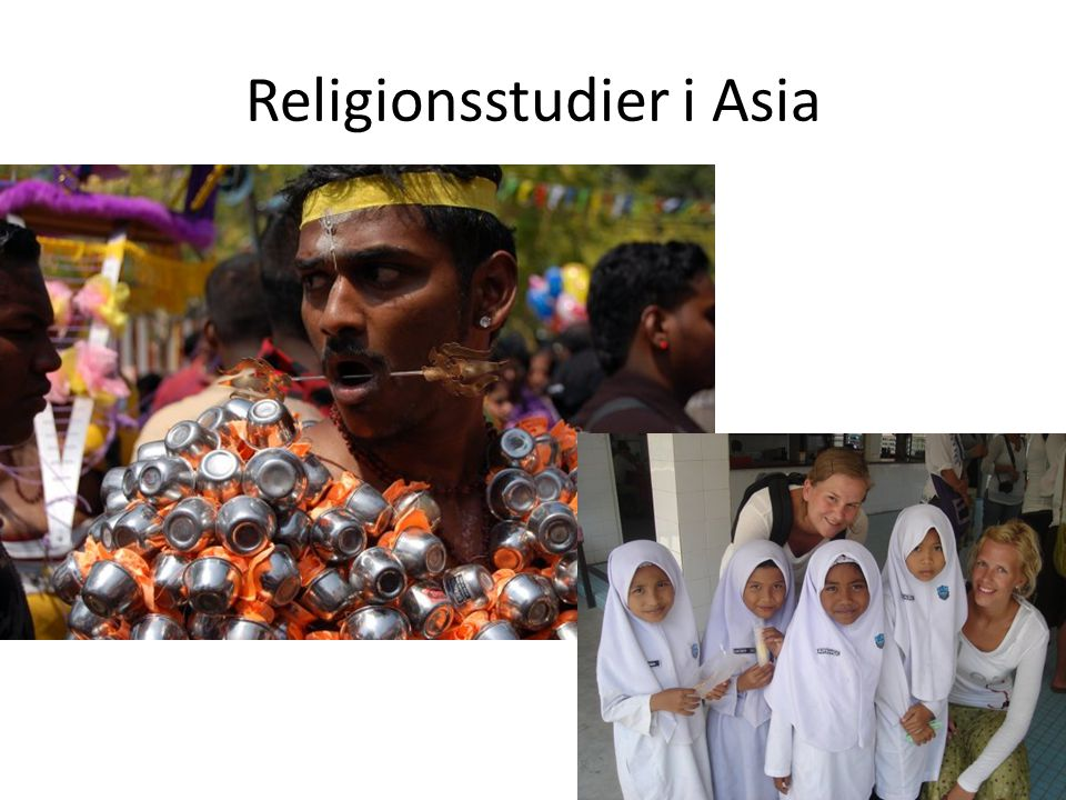 Master i religion, etikk og samfunn 120 stp, 2 år 6 emner velges, f.