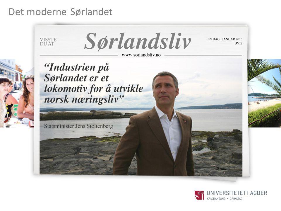 Sørlandet Det moderne