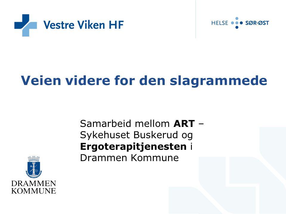 Ergoterapeut Karete Holen, ART Vestre Viken HF – Sykehuset Buskerud.