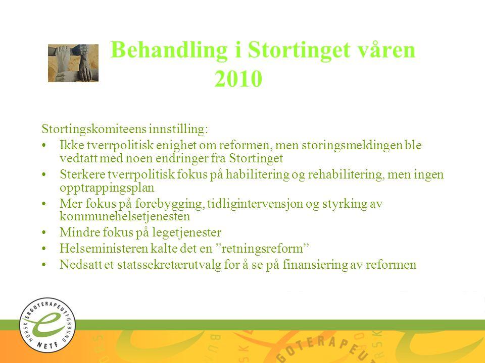 Erfaringer fra Danmark Samhandlingsreformen hadde svært mange likhetstrekk med de reformene som var gjennomført i Danmark Men der hadde de redusert 13 fylker til 5 regioner og 278 kommuner til 98 kommuner.
