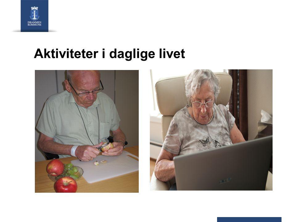 Aktiviteter i daglige livet