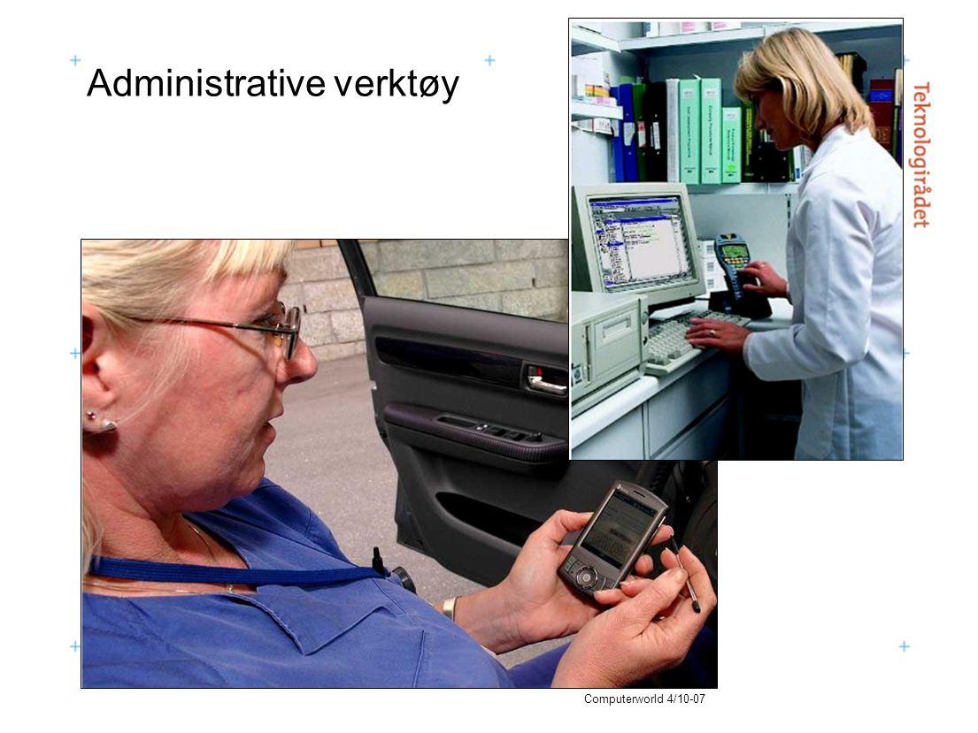 Administrative verktøy Computerworld 4/10-07
