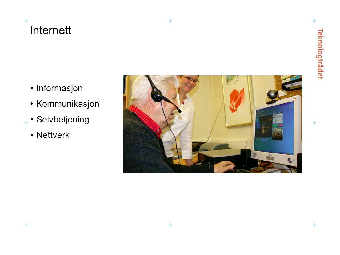 Internett Informasjon Kommunikasjon Selvbetjening Nettverk