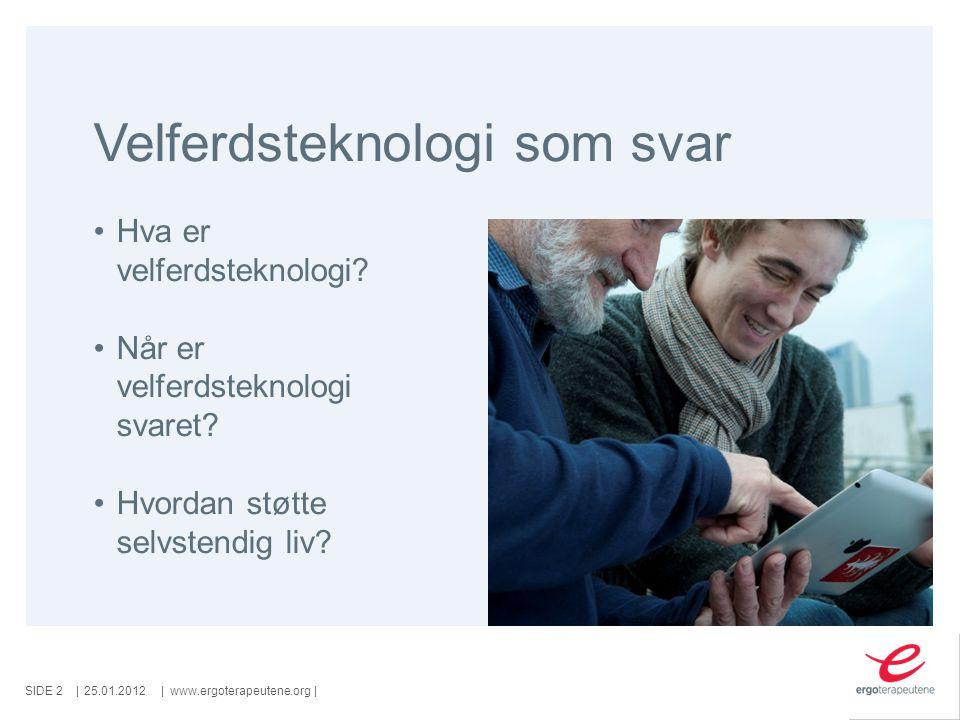 SIDE   www.ergoterapeutene.org  eller....