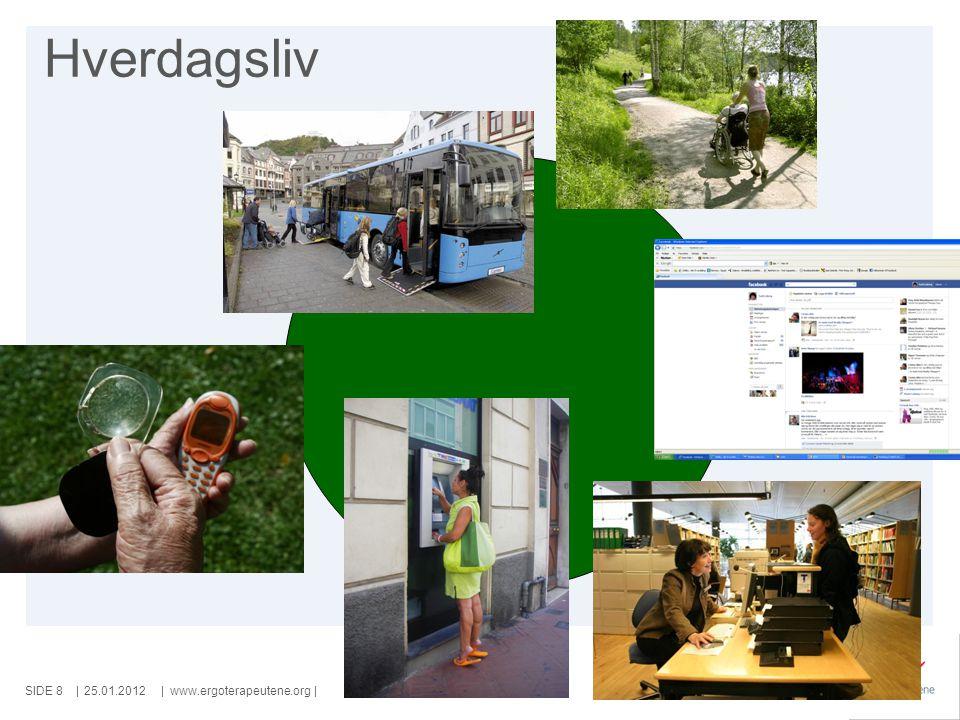 SIDE   www.ergoterapeutene.org  Kartlegging og tiltak 25.01.20129