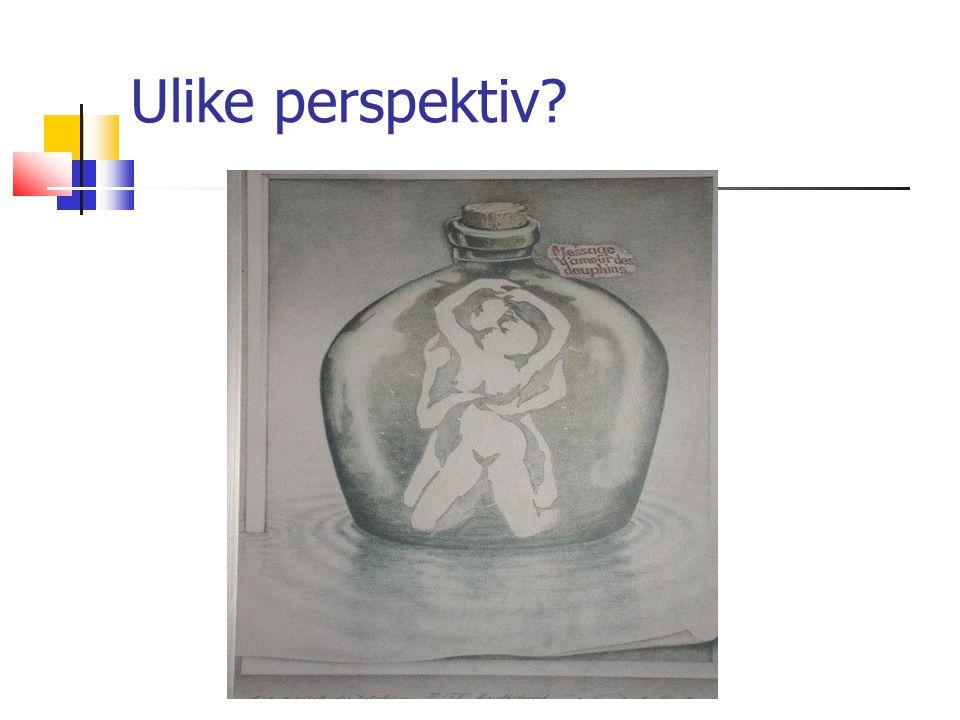 Ann Kristin Løe Ulike perspektiv?
