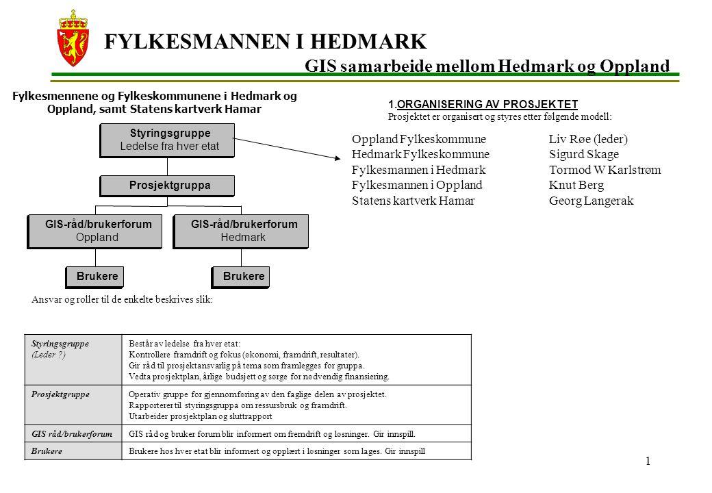 FYLKESMANNEN I HEDMARK 2 Kommune samarbeidene i Hedmark