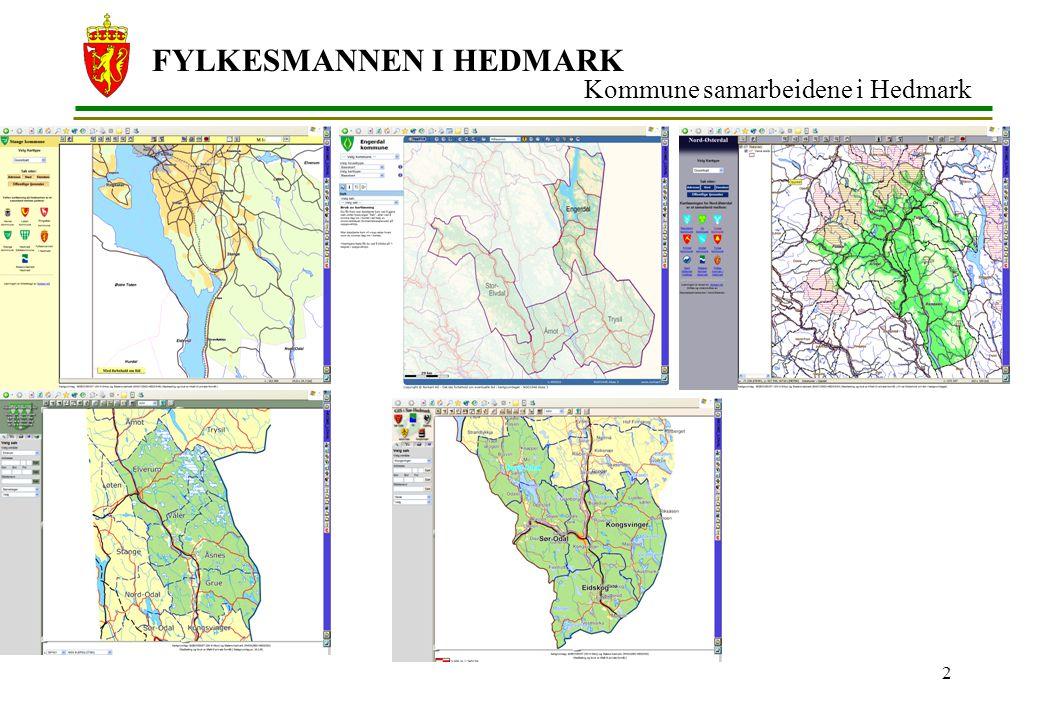 FYLKESMANNEN I HEDMARK 3 FylkesGis HeOp Sømløst innsyn ikke til erstatning for de interkommunale – men en overbygging Fokus på toveis kommunikasjon