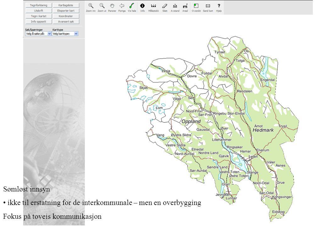 FYLKESMANNEN I HEDMARK 4 Utveksling av data - SOSI - Et standardformat for digitale geodata i Norge SOSI-standarden ble første gang utgitt i 1987 (Versjon 1.0).