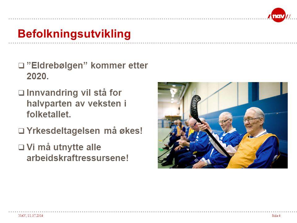 NAV, 11.07.2014Side 15 Helt ledige fordelt på aldersgrupper pr september 2009 – Hedmark (N= 2622)