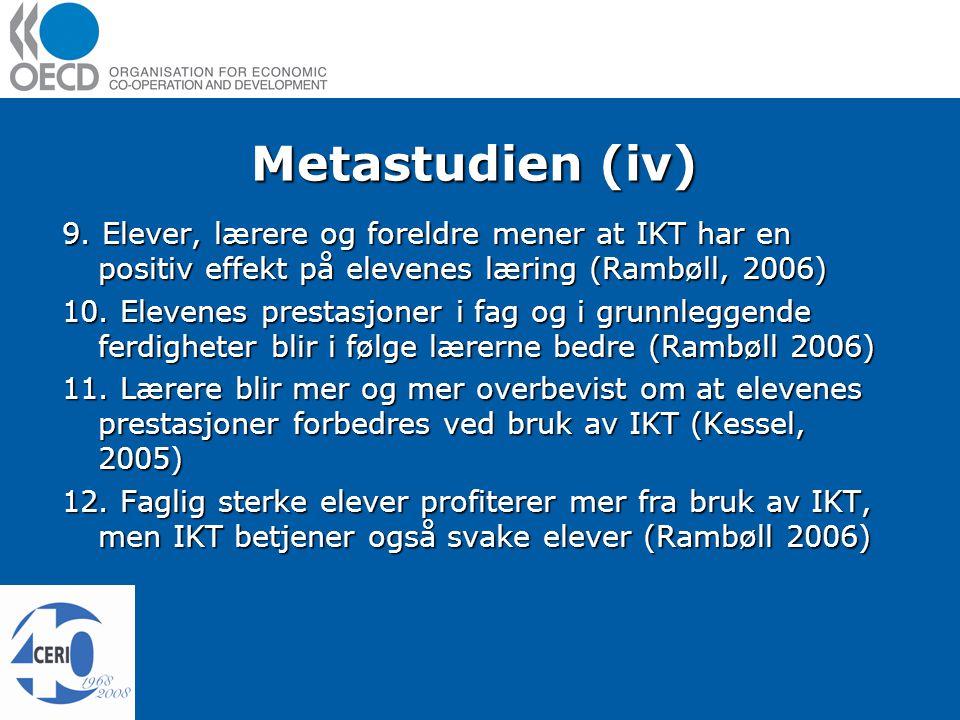 Metastudien (iv) 9.
