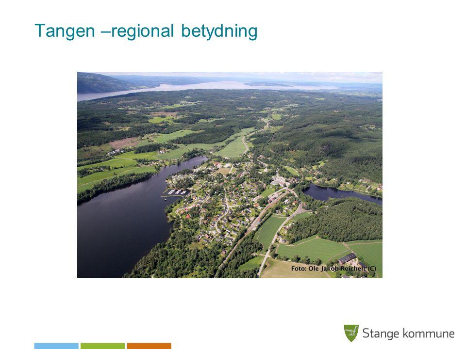 Tangen –regional betydning