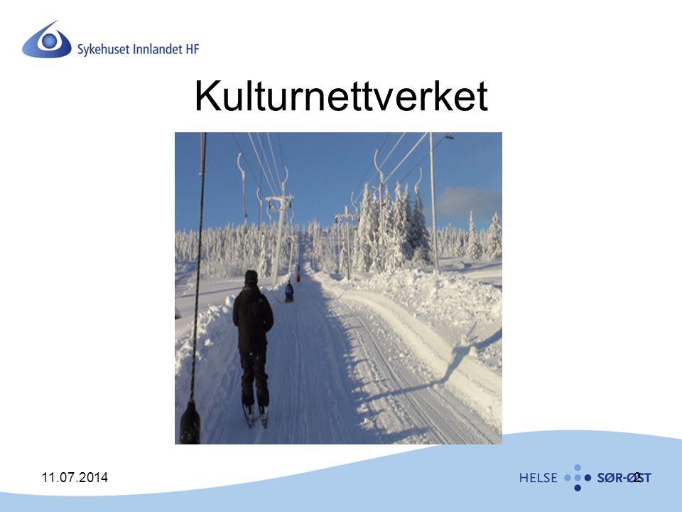 Kulturnettverket 11.07.20142