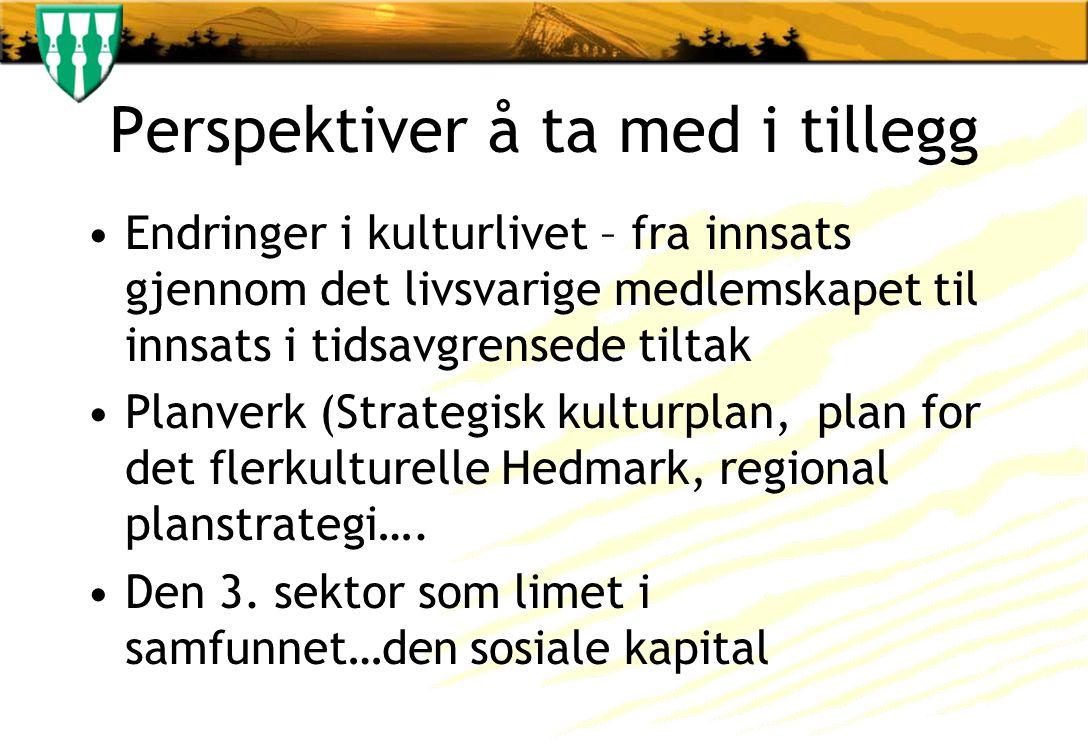 Erfaringer og refleksjoner fra arbeidet med frivillighetsmelding i Akershus Hvorfor ønsket Akershus å lage en egen frivillighetsmelding.
