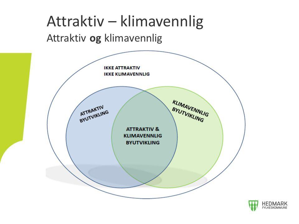 Attraktiv – klimavennlig Attraktiv og klimavennlig