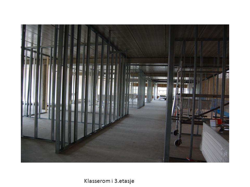 Klasserom i 3.etasje