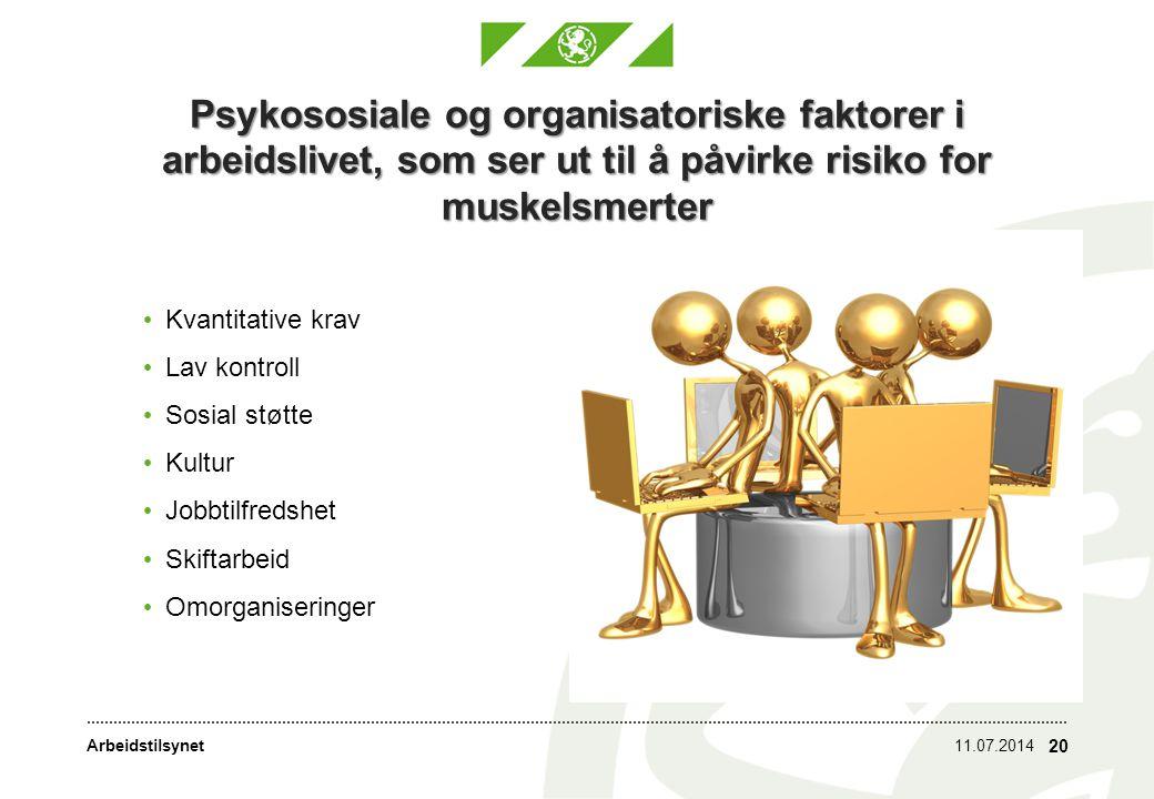 Arbeidstilsynet Arbeidstid 11.07.2014 21